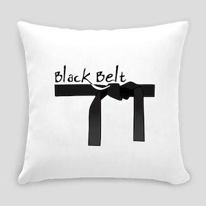 Black Belt Everyday Pillow