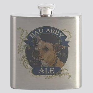 Bad Abby Pit Bull Ale Flask