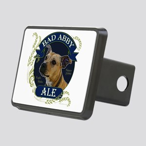 Bad Abby Pit Bull Ale Rectangular Hitch Cover