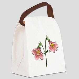 Linnea flower Canvas Lunch Bag