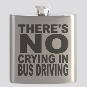 There's No Crying In Bus Driving Flask
