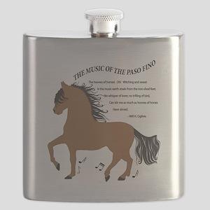 Hoofbeats Bay Flask
