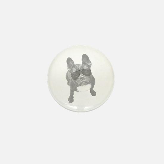 Funny Frenchie Mini Button