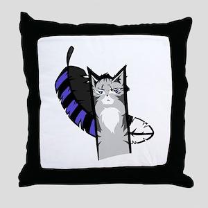 Jayfeather Cartoon Throw Pillow