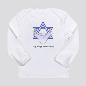 My First Hanukkah Long Sleeve T-Shirt