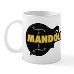 Mandolin Cafe F-Logo Coffee Mug Mugs