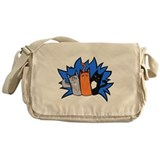 Warrior cats Canvas Messenger Bags