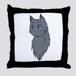 Warriors: Bluestar Throw Pillow