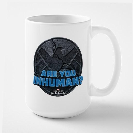 MAOS Are you Inhuman Large Mug