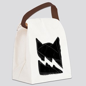Thunderclan BLACK Canvas Lunch Bag