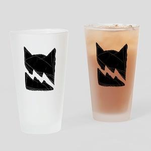 Thunderclan BLACK Drinking Glass