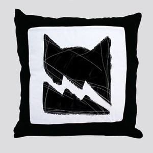 Thunderclan BLACK Throw Pillow