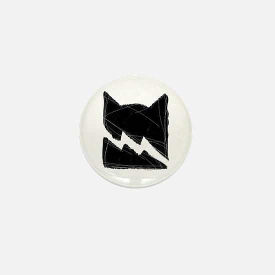 Thunderclan BLACK Mini Button