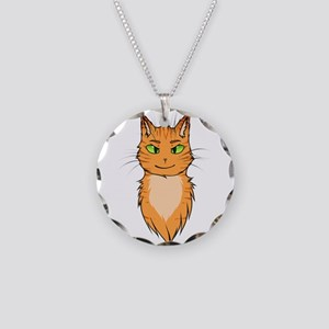 Warriors: Firestar Necklace Circle Charm