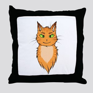 Warriors: Firestar Throw Pillow