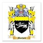 Matchett Square Car Magnet 3