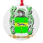 Matcham Round Ornament