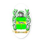 Matcham Oval Car Magnet