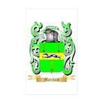 Matcham Sticker (Rectangle 50 pk)