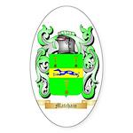 Matcham Sticker (Oval 50 pk)