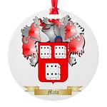 Mata Round Ornament