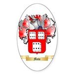 Mata Sticker (Oval 10 pk)