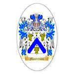 Masterson Sticker (Oval 10 pk)
