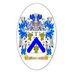 Masterson Sticker (Oval 50 pk)
