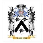 Massinger Square Car Magnet 3