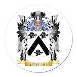 Massinger Round Car Magnet