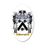 Massinger 20x12 Oval Wall Decal