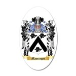 Massinger 35x21 Oval Wall Decal