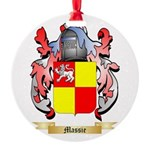 Massie Round Ornament
