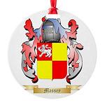 Massey Round Ornament