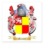 Massey Square Car Magnet 3