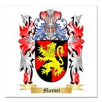 Massei Square Car Magnet 3