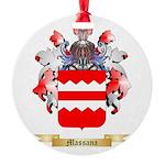 Massana Round Ornament
