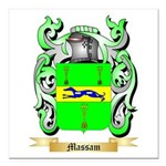Massam Square Car Magnet 3