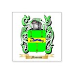 Massam Square Sticker 3