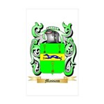 Massam Sticker (Rectangle 50 pk)