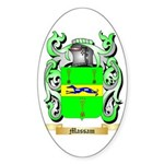 Massam Sticker (Oval 50 pk)