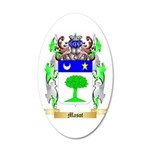 Masot 20x12 Oval Wall Decal