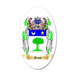Masot 35x21 Oval Wall Decal