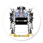 Maslin Round Car Magnet