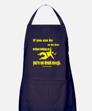 2-If You Can Lie for Black.png Apron (dark)