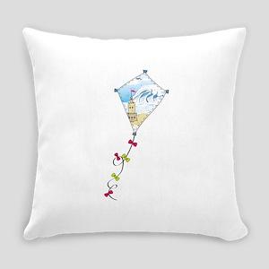 Ocean Breeze Kite Everyday Pillow