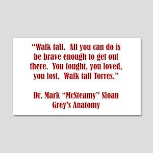 WALK TALL! Wall Decal