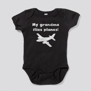 My Grandma Flies Planes Baby Bodysuit
