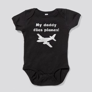My Daddy Flies Planes Baby Bodysuit