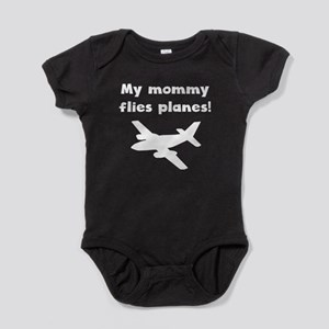 My Mommy Flies Planes Baby Bodysuit